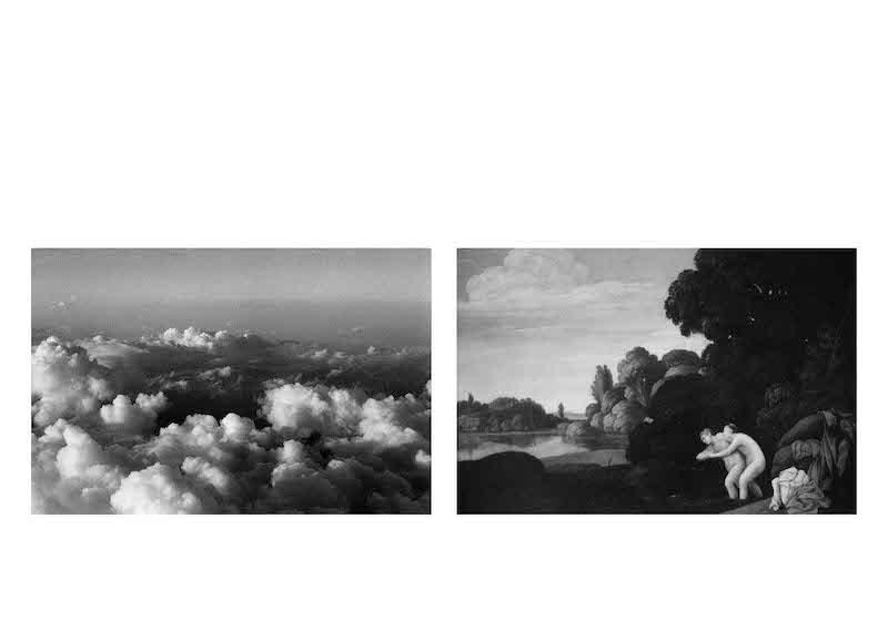 Guillaume de Sardes, Alpes-Naples, 2013. Diptyque 70 x 100 cm Inkjet print éd. 1/7