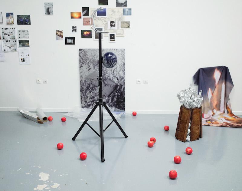 Vue d'atelier, 2020