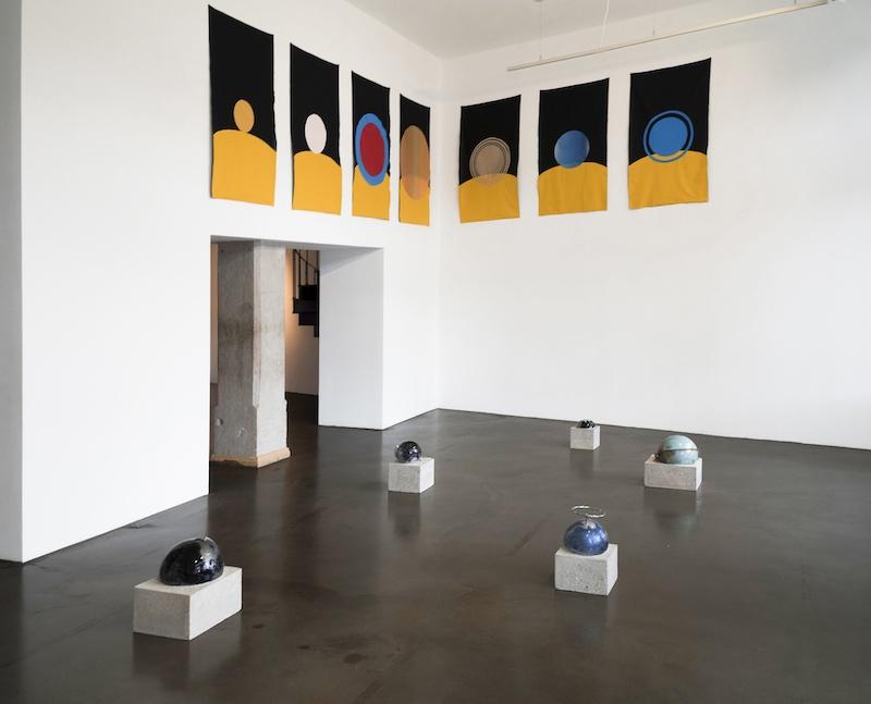vue de l'exposition pour construire un monde...(encore faudrait-il préserver le nôtre), 2018, la BF15, Lyon, commissariat Perrine Lacroix