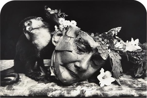 Joel-Peter-Witkin, Face of a woman, Marseilles, 2004 tirage gelatino-argentique, 56,2 x 83,5 cm Bruce Silverstein Gallery, New York