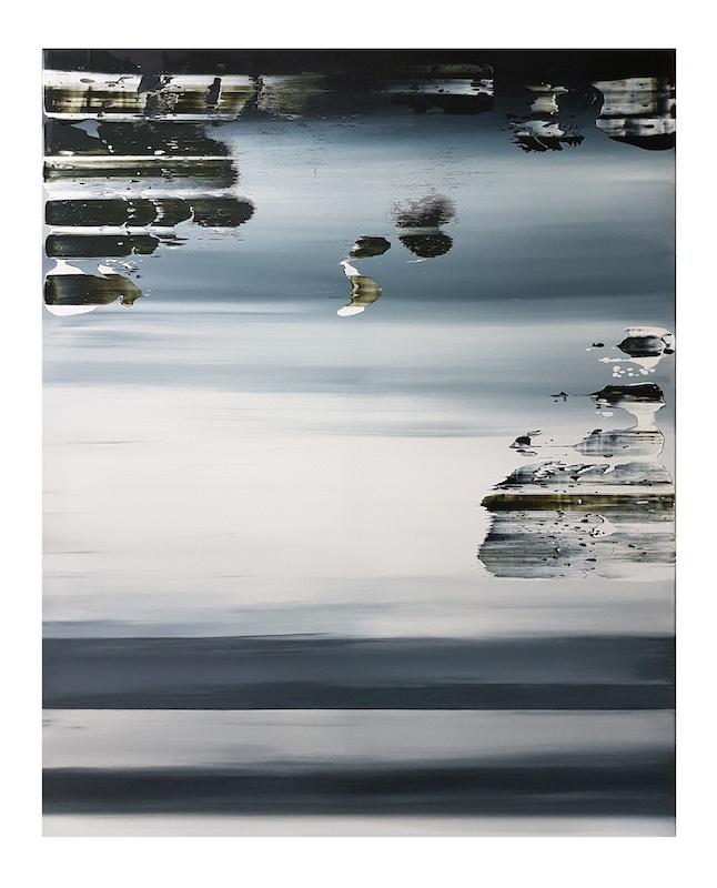 Johanna Marie Schimming, 139, 2019. Acrylique sur toile, 100 x 80 cm