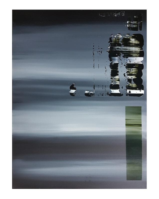 Johanna Marie Schimming, 146, 2019. Acrylique sur toile, 80 x 60 cm