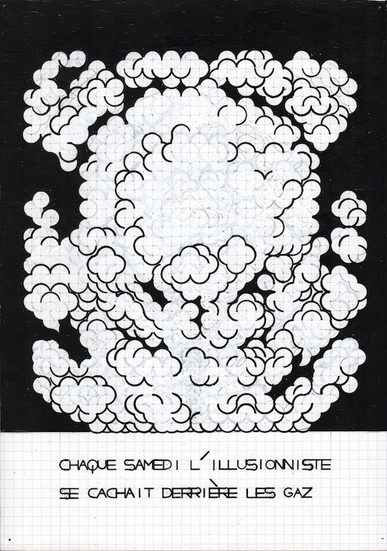 Olivier Garraud, L'Office du dessin, numéro 167B, A4, 2019