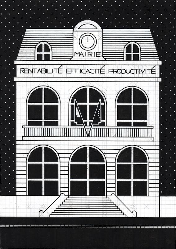 Olivier Garraud, L'Office du dessin, numéro 168B, A4, 2019