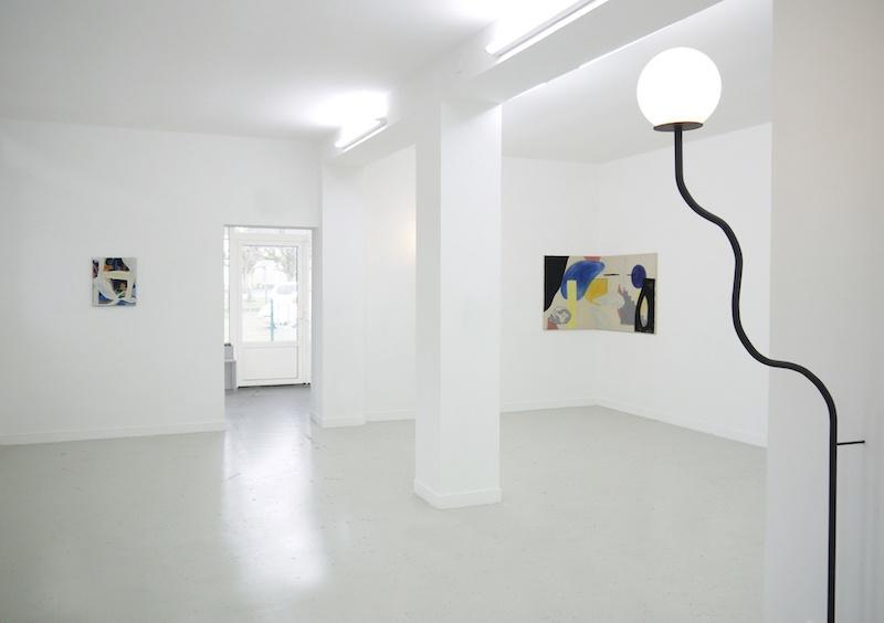 Vue de l'exposition Lacunes de Zoé de Soumagnat du 1er février au 15 mars 2020, aux Bains-Douches Alençon