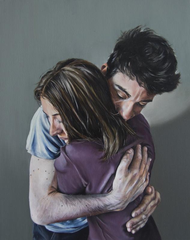 Anaïs Prouzet Thibault, 2019. Huile sur bois, 30 x 25 cm
