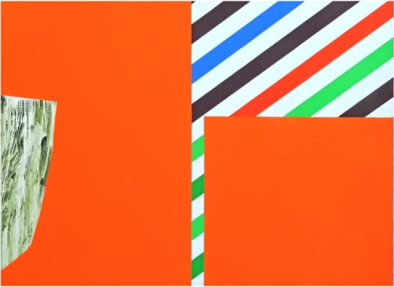 Claude Tétot, Sans titre, 2009  Huile sur toile, 160 x 200 cm