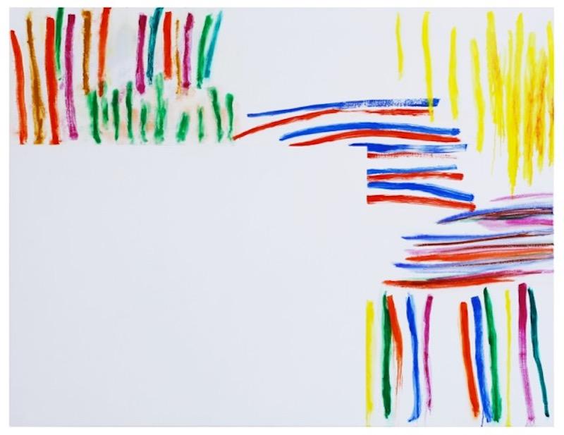 Claude Tétot, Sans titre, 2020  Huile sur toile, 100 x 130 cm