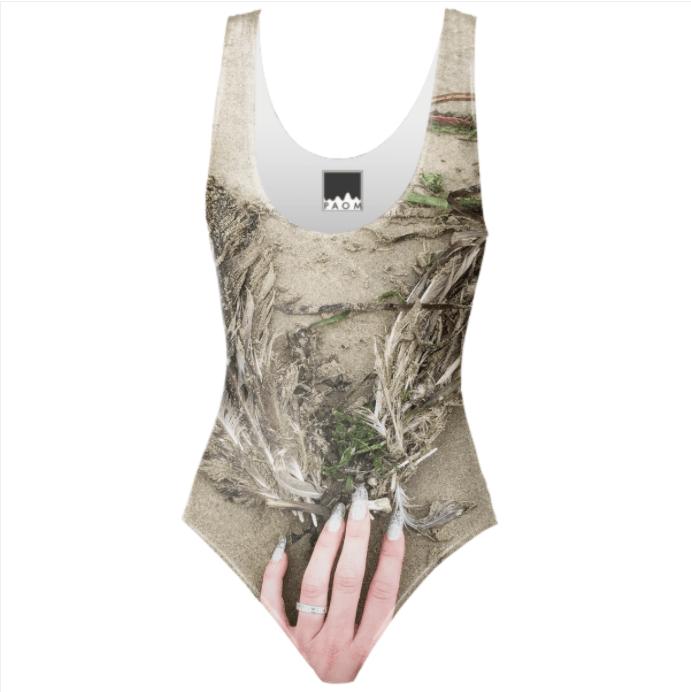 Juliette Feck, Summer Hamanthalia, 2019, Monokini print