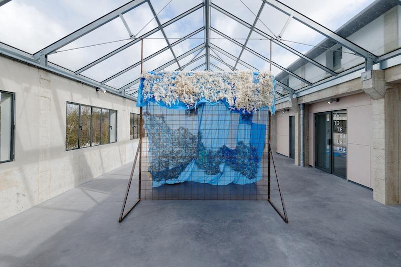 Ouassila Arras, vue d'exposition Des Histoires d'eau  Photo Aurélien Mole  Courtesy Les Tanneries CAC Amilly