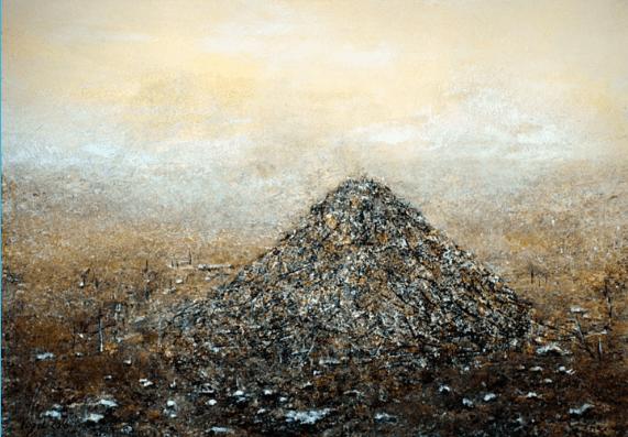 Pierre Vogel, 2016. Huile sur toile, 70 x 100 cm