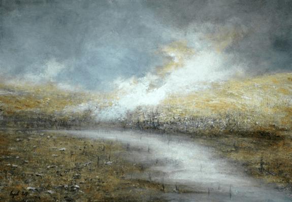Pierre Vogel, 2017. Huile sur toile, 70 x 100 cm