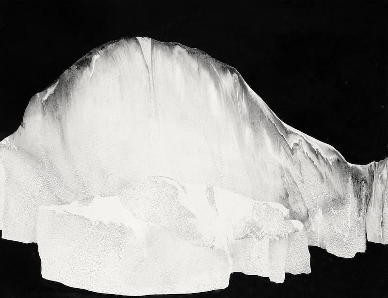 Yann Bagot, Titan #01, 2017 Encre de chine sur papier, 50 x 65 cm Courtesy et photo Yann Bagot