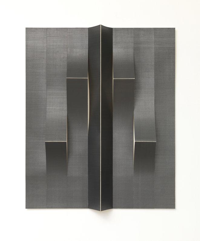 Diogo Pimentao, Contatc (Sided), 2014, papier et graphite, Frac Normandie Rouen © Diogo Pimentao