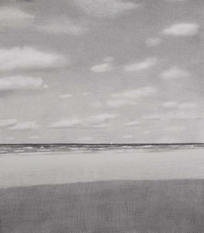 """Marcelo Fuentes, """"Mar 18"""". Dessin 115,5 cm x 100 cm. courtesy galerie Camera Obscura"""
