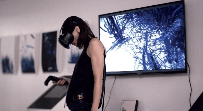 Pauline Dufour, Junglefever, 2017. 204 Virtual Arts Gallery Paris. Courtesy artiste