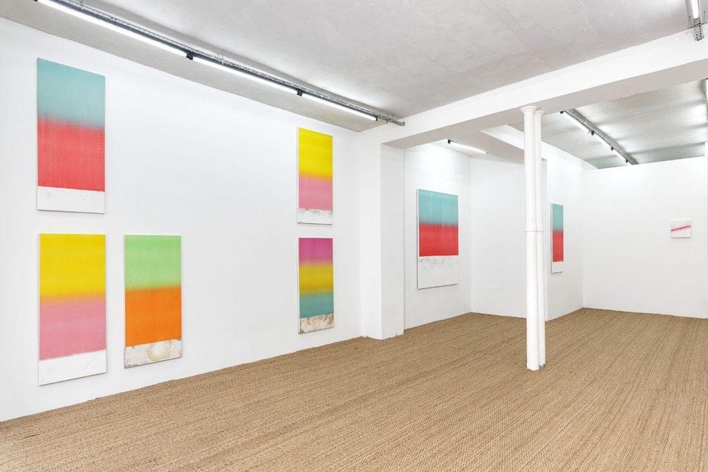 vue de l'exposition Patio de Luz © Terencio González Courtesy Galerie Jérôme Pauchant photo Romain Darnaud