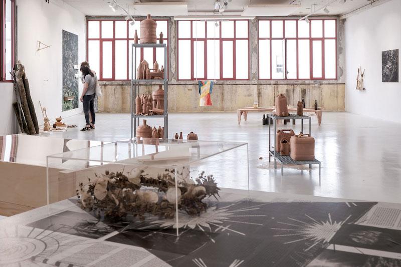 Vue de l'exposition 2 - L'autre loi de la jungle - Atelier du vent - 2020
