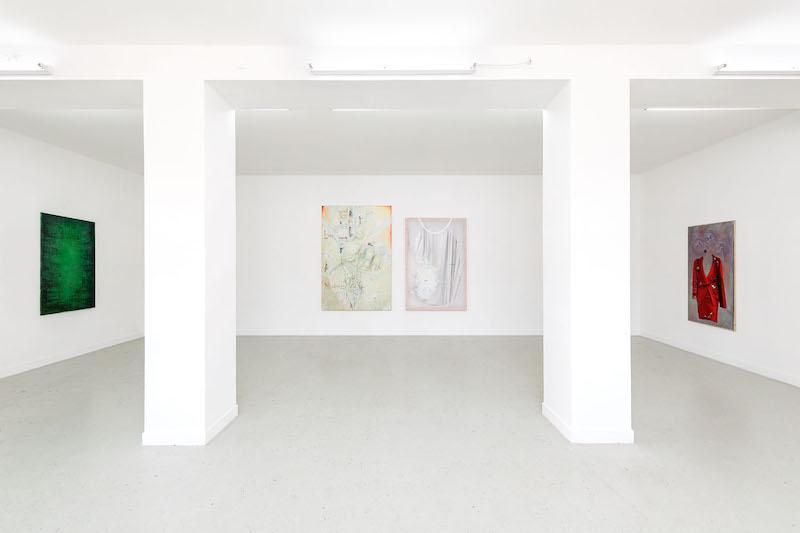 Vue de l'exposition Mathilde Ganancia, Onces-sur-Joult Du 12 septembre au 25 octobre 2020  courtesy de l'artiste et Les Bains-Douches Crédit photo Romain Darnaud