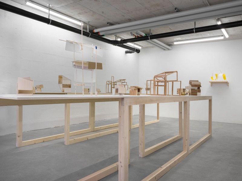 Mengzhi Zheng, Exhibition View II, © Julien Gremaud