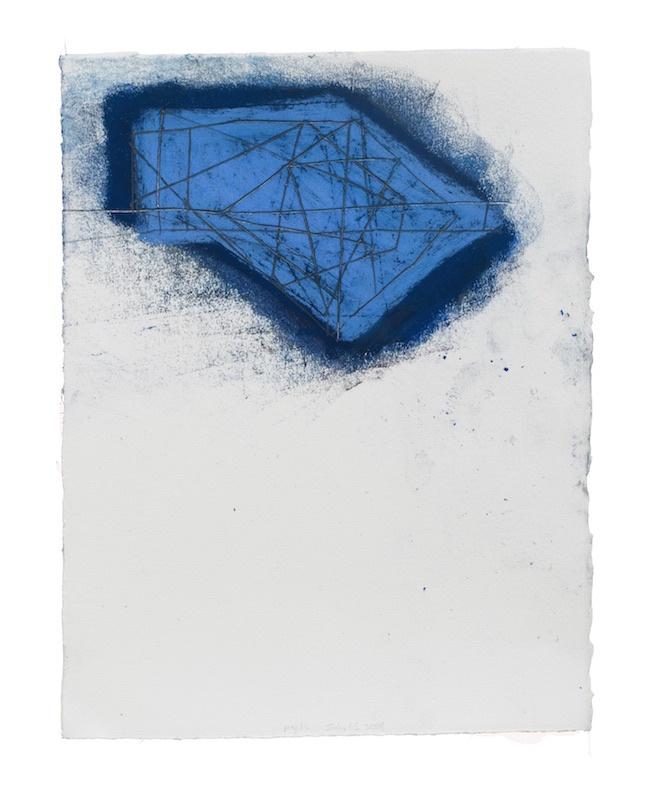Paul Pagk, July 15, 2018 Graphite, crayon, pastels secs et à l'huile sur papier, 38 x 28 cm Courtesy artiste et Schönfeld Gallery, Bruxelles