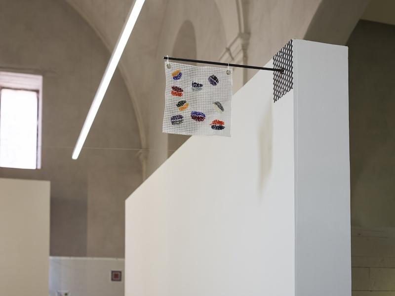 """Vue de l'exposition """"D'ailleurs, la vie ici"""", David de Tscharner, 2020, Centre d'art contemporain Les Capucins, Embrun ©f.deladerriere"""