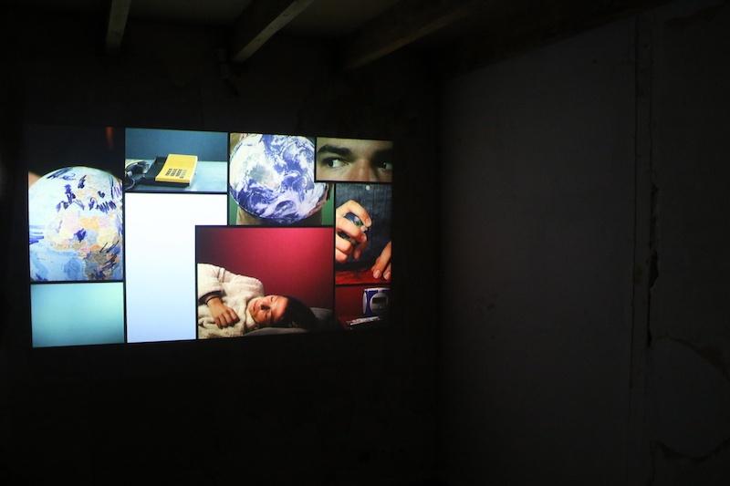 Dynamique du Contre Clément Salzedo, Wake Up Do Something, Projection, 5min30, 2020, avec Simon Peretti, Eliakim Sénégas Lajus et Pauline Bès, Lumière, Adam Pellé