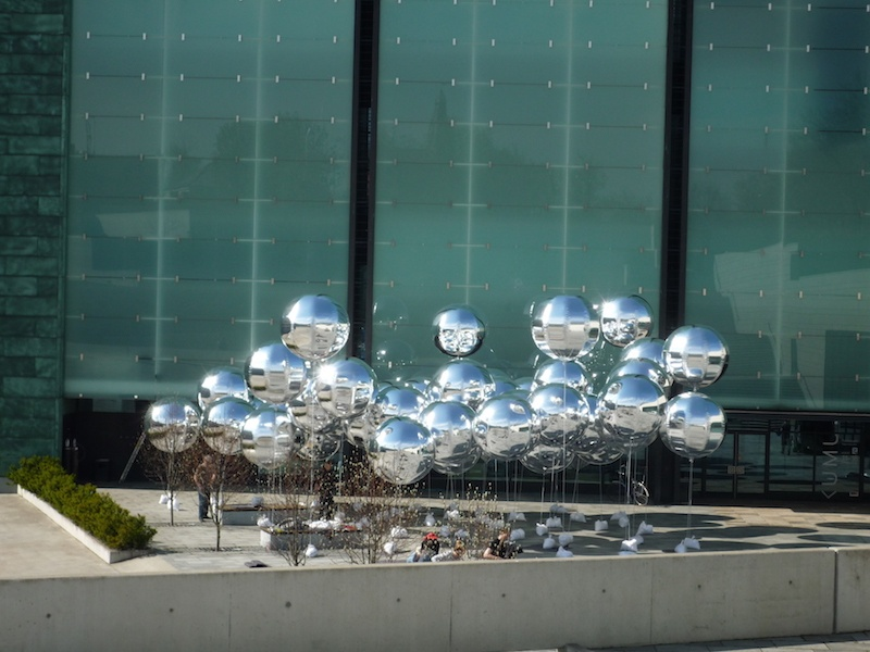 Jenny Marketou Silver Series,installation Kumu Museum Tallin Estonia
