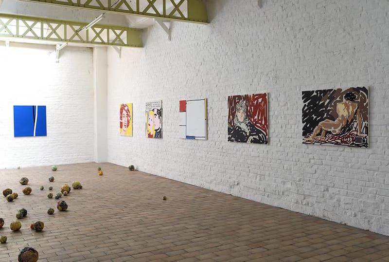 Vue d'exposition Ctrl + P d'Emmanuel Moralès du 25 septembre au 11 octobre 2020, Delta Studio Roubaix