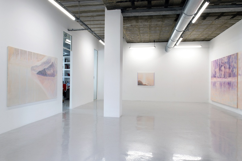 Vue d'exposition Staring in place de Daniele Genadry Courtesy Daniele Genadry & Galerie In Situ - fabienne leclerc, Grand Paris  Photo Marc Domage