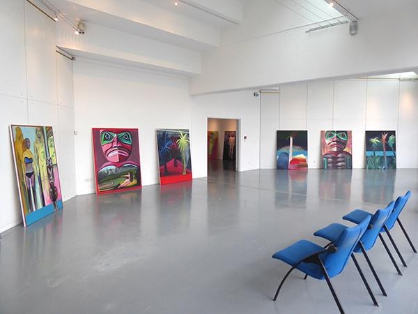 Vue d'exposition, Face aux rives…, Anne Guillotel - Conservatoire des Arts, Montigny-le-BretonneuxVue d'exposition, Face aux rives…, Anne Guillotel - Conservatoire des Arts, Montigny-le-Bretonneux