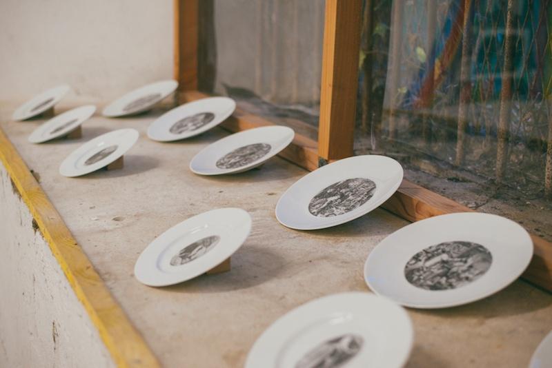 Vue de l'exposition Laurence Favory, Une Femme au Fort  photo : Noé Pradel-Fraysse