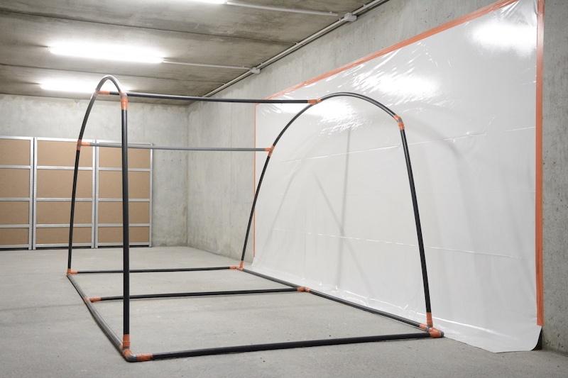 pas de côté, Nicolas Doche, vue d'exposition, 2020 ©Le Box