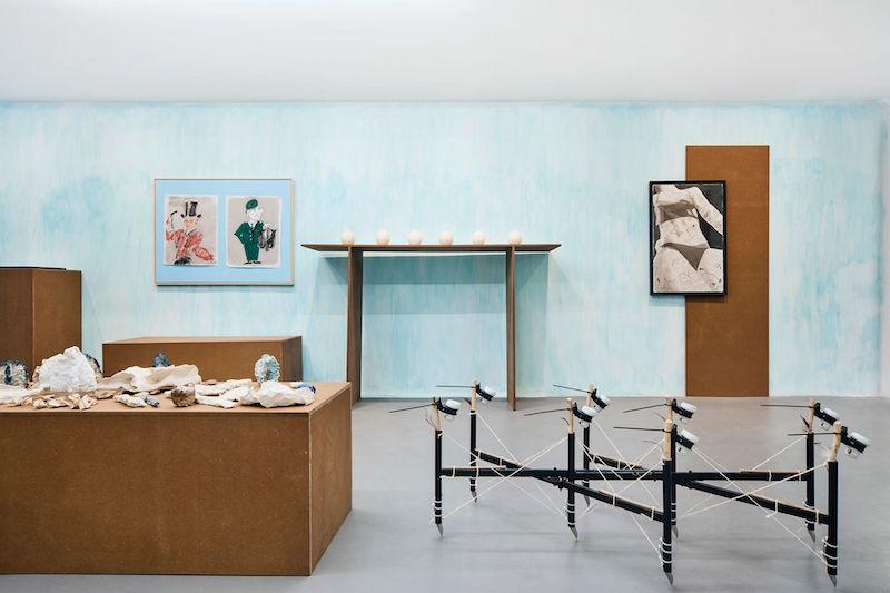 Vue exposition TOUJOURS - Maxime Fragnon - Maxime Souvent - Raphäel Matieu - Geoffrey Benhamou - Pierre Clement - Jean André