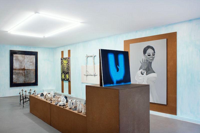 Vue exposition TOUJOURS - Pedro Ruxa - François Patoue - Tommy Lecot - Hugo Capron - Martin Kahler - Pierre Clement - Maxime Fragnon