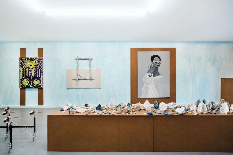 Vue exposition TOUJOURS - Pierre Clement - Maxime Fragnon - Hugo Capron - Tommy Lecot - Martin Kahler
