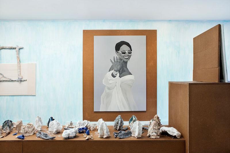 Vue exposition TOUJOURS - Tommy Lecot - Maxime Fragnon - Martin Kahler