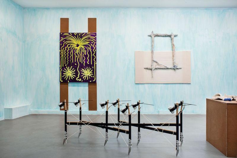 Vue exposition TOUJOURS - Hugo Capron - Martin Kahler - Pierre Clement - Maxime Fragnon