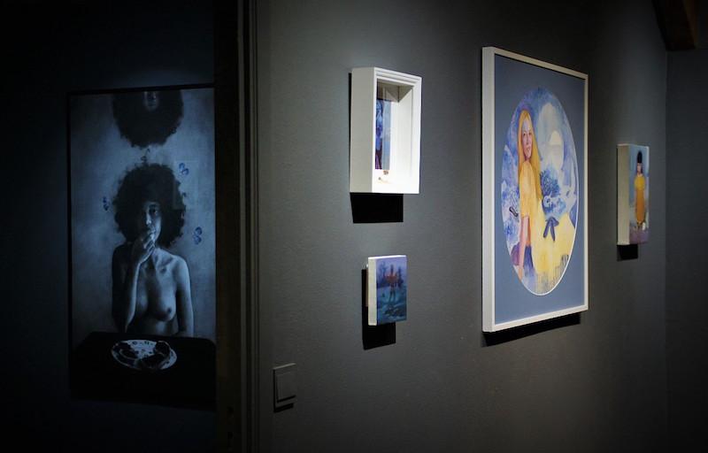 Exposition Sacrée de Whitney Orville jusqu'au 1er novembre 2020, Galerie du Comble, Virton, BelgiqueExposition Sacrée de Whitney Orville jusqu'au 1er novembre 2020, Galerie du Comble, Virton, Belgique