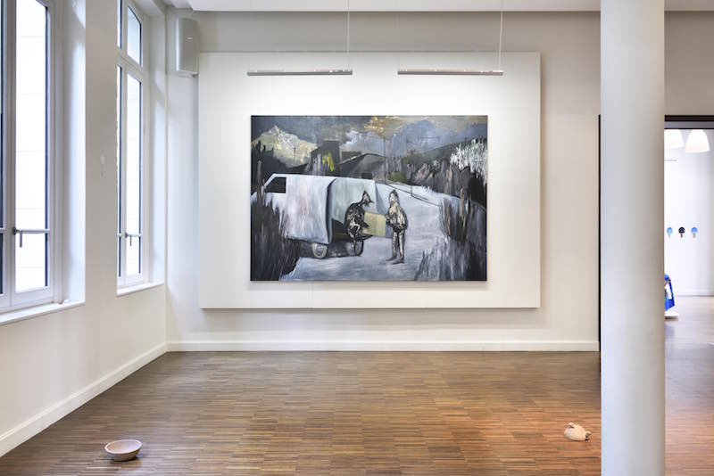 Vue de l'exposition Un monde à votre image, Bourse Révélations Emerige 2020, commissariat Gaël Charbau, Villa Emerige © Rebecca Fanuele
