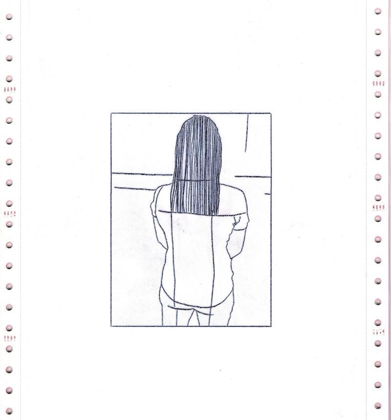 Les Chroniques du Réel, Jour 35, dessin 03, version numérique - scan de l'original, Saison II/Phase1, 2020. © Charlie Chine