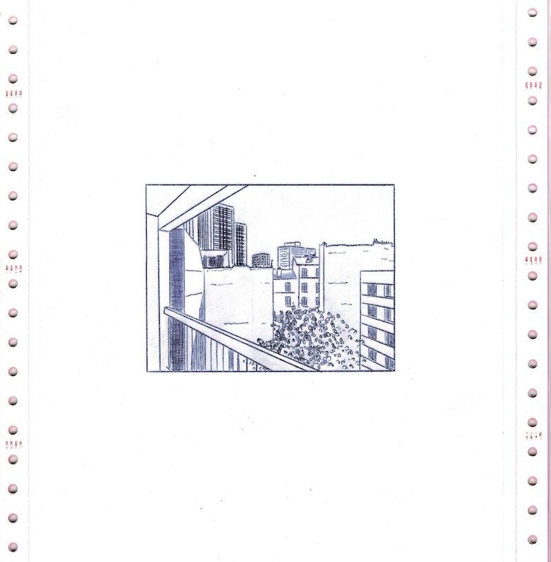 Les Chroniques du Réel, Jour 29, dessin 01, version numérique - scan de l'original, Saison II/Phase1, 2020. © Charlie Chine
