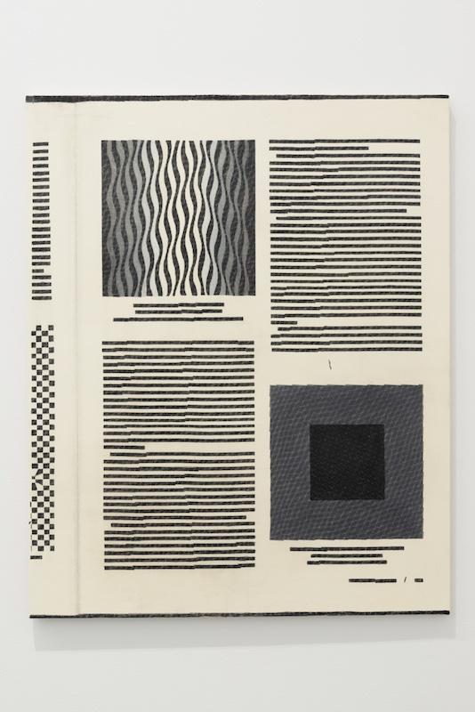 Paul Collins, History of Modern Art - p. 617, 2020 acrylique sur lin 100 × 81 cm courtesy de l'artiste et de General Hardware Contemporary, Toronto – photo : Benoît Mauras