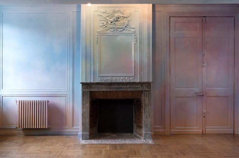 Vue de l'exposition « Décoration, quelle horreur ! » de Flora Moscovici à L'Académie, 2020. © Marc Domage
