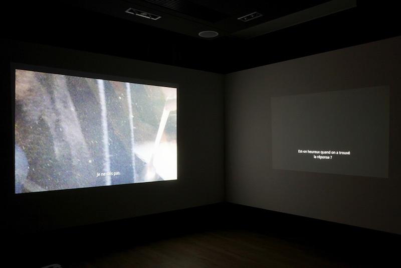 vue de l'exposition « Si c'est pour les gens, ça doit être beau », dit-elle, de Jeremiah Day, centre d'art Le Lait, 2020, Albi (FR), photo Phœbé Meyer