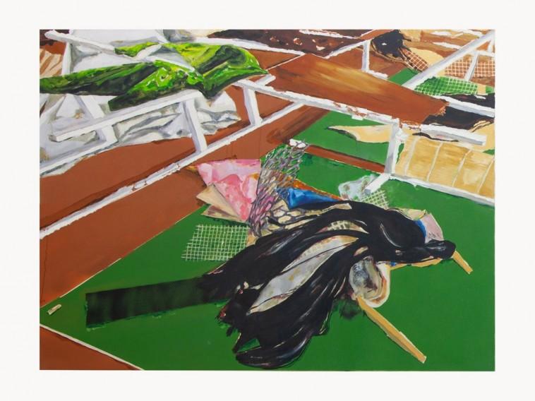 Léonard Martin Variations Genji - II, 2020 Galerie Alberta Pane
