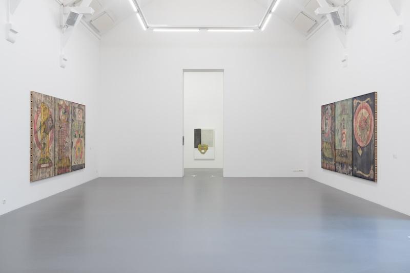 Mathis Collins, vue de l'exposition Mime, La Criée centre d'art contemporain, Rennes, 2020. photo : Benoît Mauras