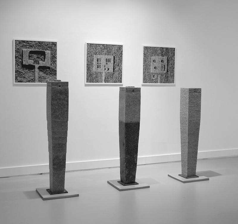 Michel Thamin Lithoglyphes - L179, L187, L188, 2019