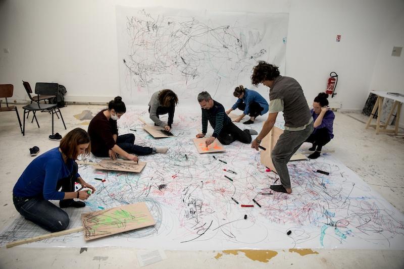 Workshop Power to the Unspoken, SOMA 2020 © Fanni Futterknecht