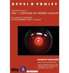 APPEL À PROJET – EXPOSITION IESA 2021 – COLLECTIF UNLOCKED